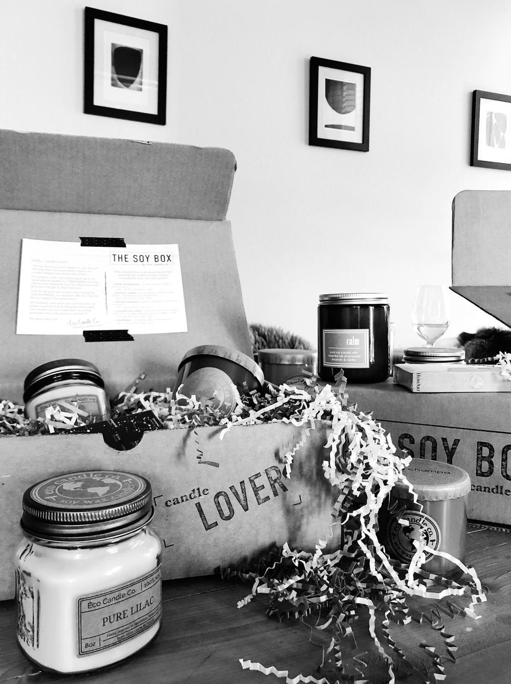 Eco Candle Co. | The Soy Box Subscription
