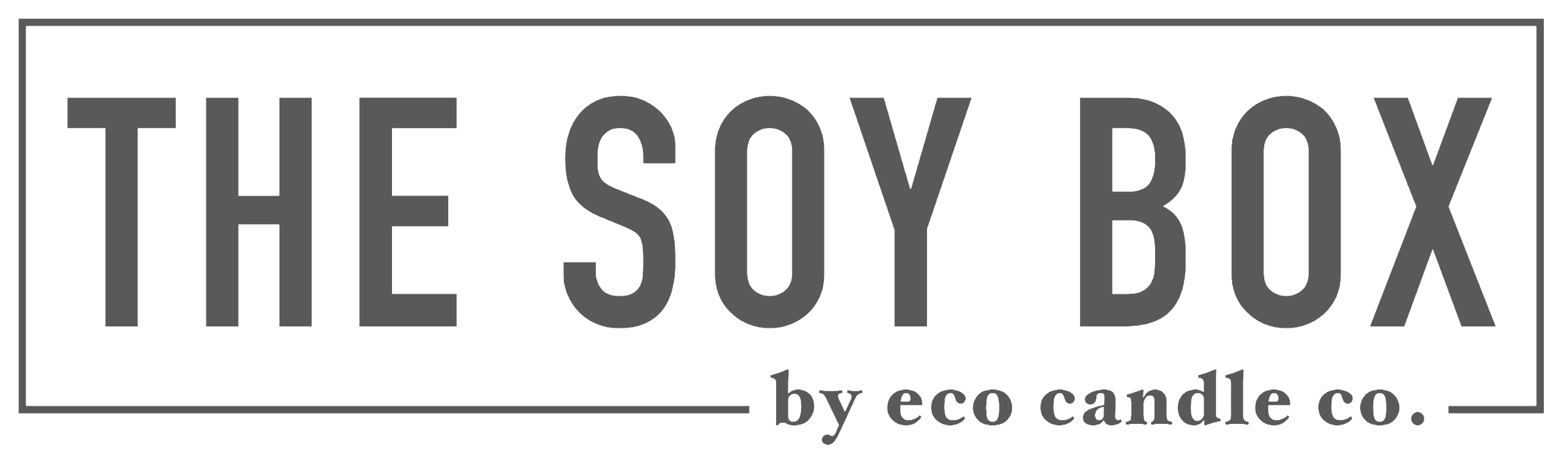 The Soy Box by Eco Candle Co logo